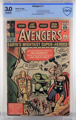 Marvel Comics Avengers #1 CBCS 3.0