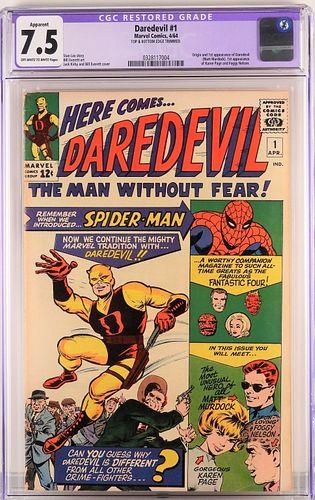 Marvel Comics Daredevil #1 CGC 7.5
