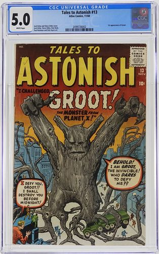 Atlas Comics Tales to Astonish #13 CGC 5.0