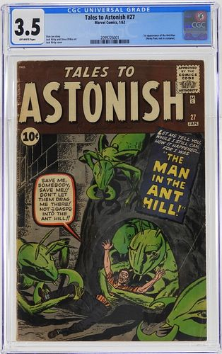 Marvel Comics Tales to Astonish #27 CGC 3.5