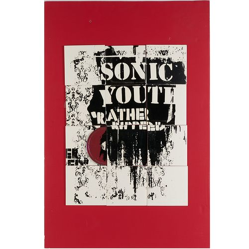 Sonic Youth, original promotional art