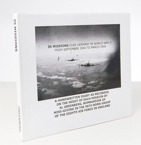 BOOKS: 35 Missions Over Germany, WWII bomber diary