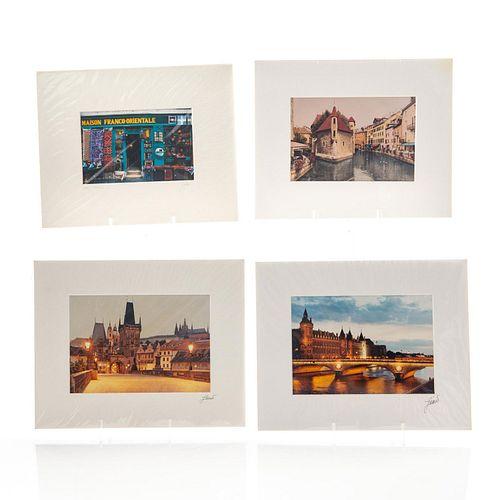 FOUR PHOTOGRAPHS, FRANCE AND PRAGUE