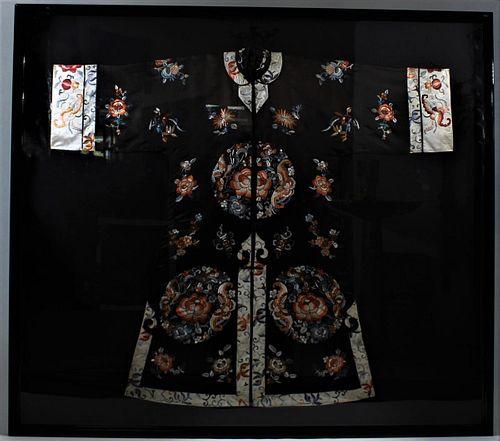 Large Japanese Framed Kimono