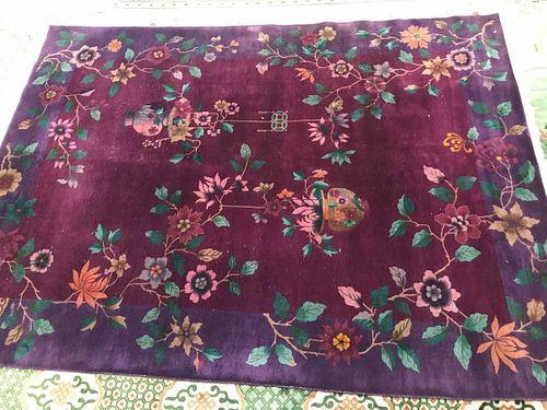 Nichols Chinese Carpet Circa 1930s