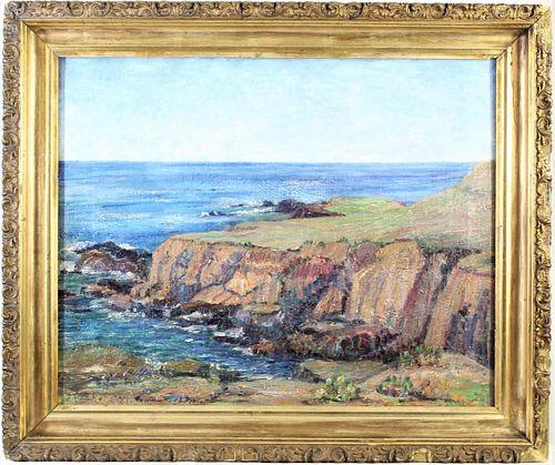Carmel, California (Early 20th Century) O/C