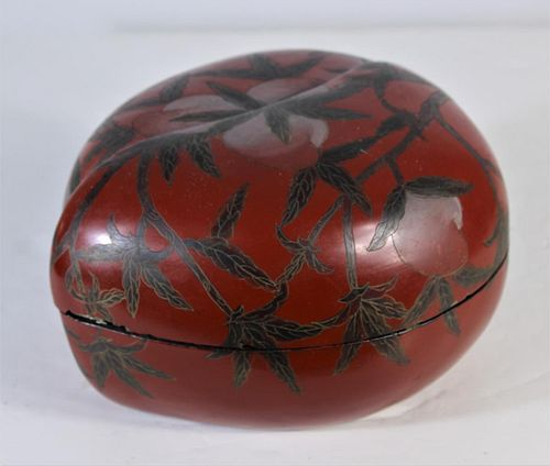 Japanese Lacquer Ware Jewelry Box