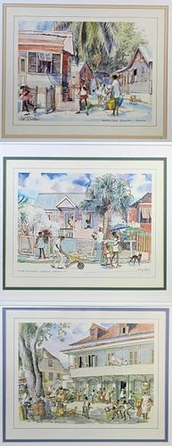 Jill Walker (b. 1927) Barbados Prints