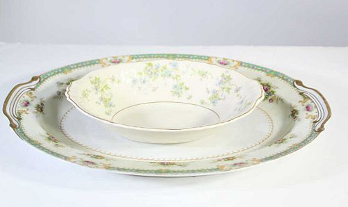 Two Pieces of Serving Porcelain