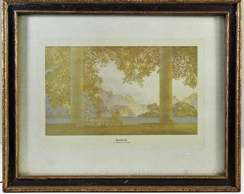 """Maxfield F. Parrish (1870-1966), """"Daybreak"""" Print"""