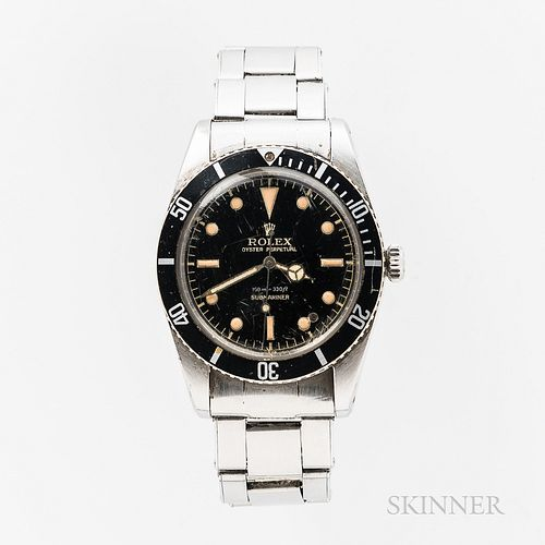 "Single-owner Unserviced Rolex Reference 5508 ""James Bond"" Wristwatch"