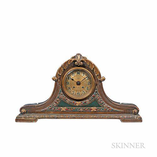 Chelsea Plaster of Paris Tambour Shelf Clock