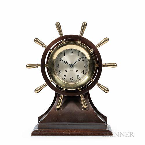 "Chelsea ""Mariner"" Yacht Wheel Clock"