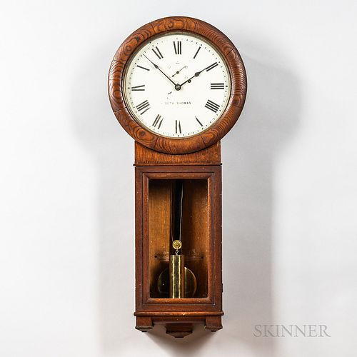 Seth Thomas Oak No. 2 Wall Regulator