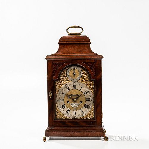 William Smith Mahogany Bracket Clock