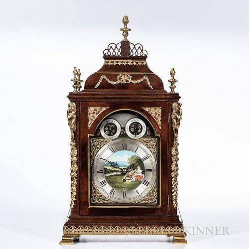 Benjamin Ward Musical Bracket Clock