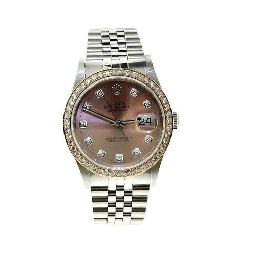 Rolex Datejust Pink Dial