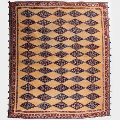 South Persian Flatwoven Carpet