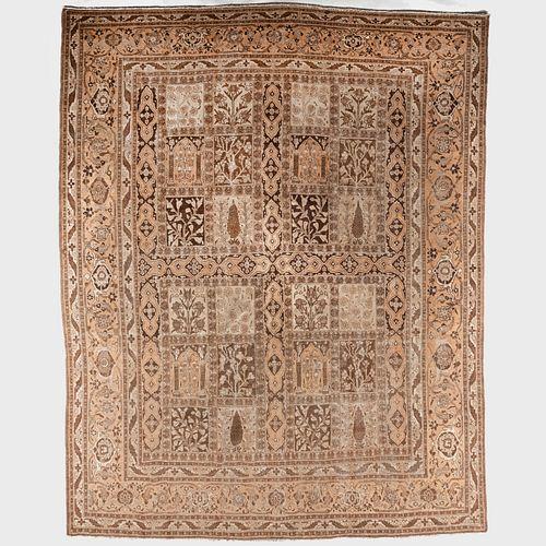 Persian Tabriz Garden Carpet