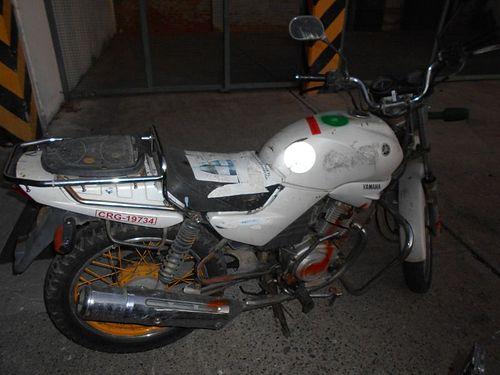 Motocicleta Yamaha YBR125 2010