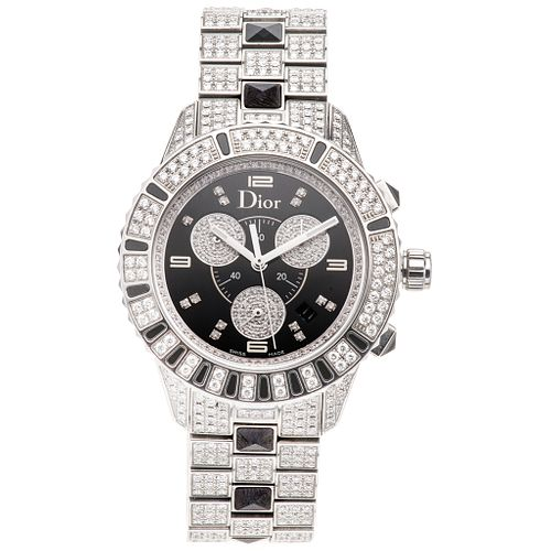 CHRISTIAN DIOR CHRISTAL WITH DIAMONDS. STEEL