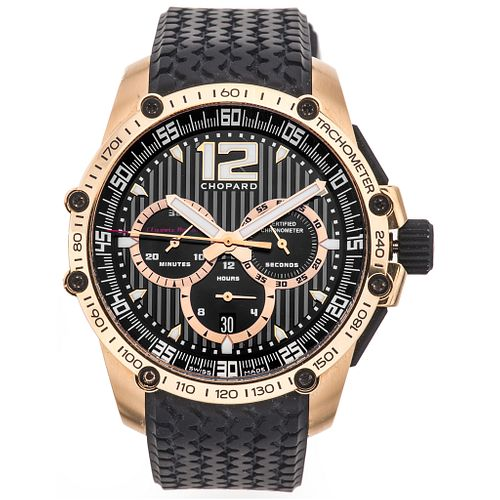 CHOPARD CLASSIC RACING SUPERFAST LIMITED EDITION 18K PINK GOLD. REF. 1276