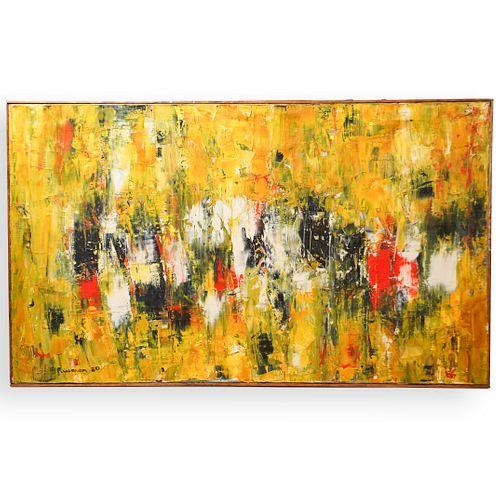 Marion Riseman (American, 1928-2010) Oil on Canvas