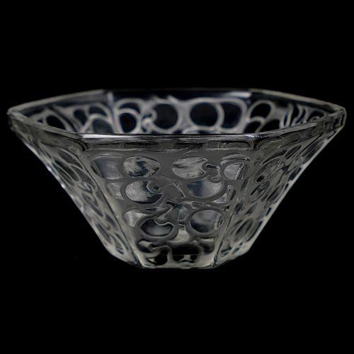 R. Lalique Fruit Bowl