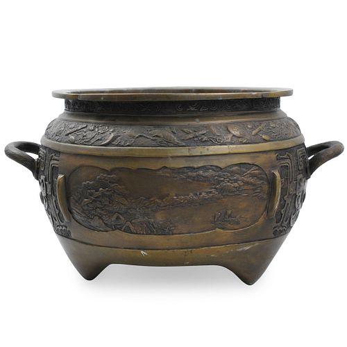 Chinese Bronze Planter