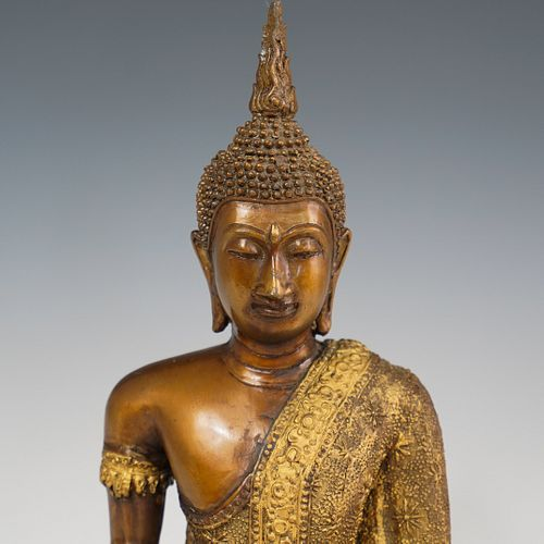 Gilt Bronze Figure of Buddha
