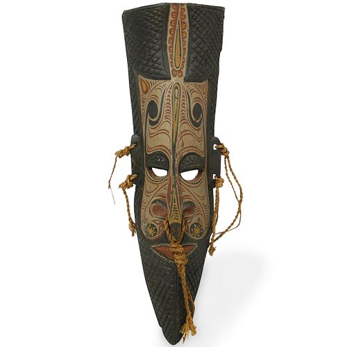 Papua New Guinea Carved Wood Mask