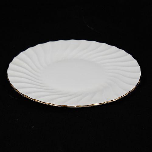 Staffordshire Bone China Plate