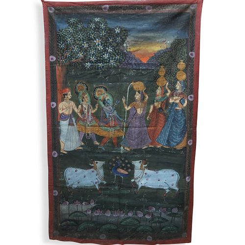 Indian Pichwai Painting