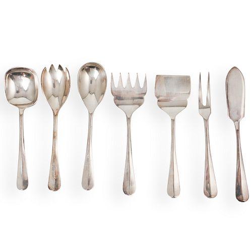(7 Pc) Sterling Silver JRAI Set