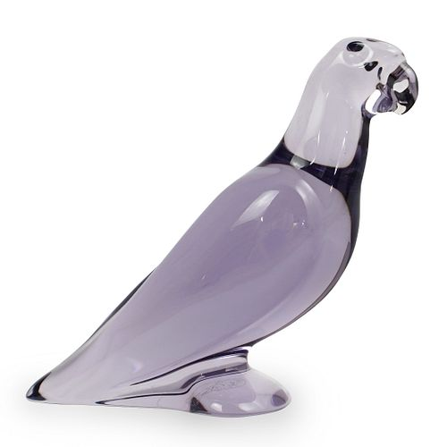 Baccarat Crystal Parrot