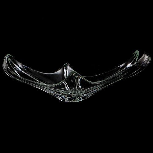 Abstract Glass Centerpiece