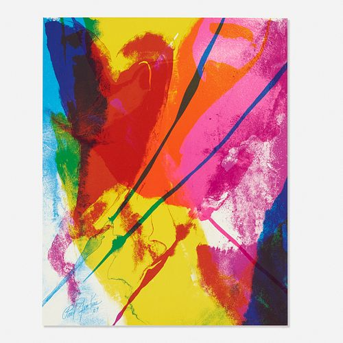 Paul Jenkins, Untitled