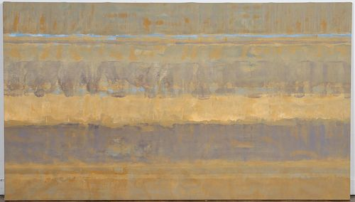 "WILLEM DE LOOPER, ""UNTITLED"",  ACRYLIC, 1974"
