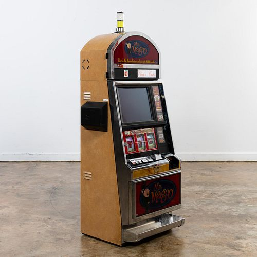 "BALLY, ""MR. MAGOO"" ELECTRONIC SLOT MACHINE, 2002"
