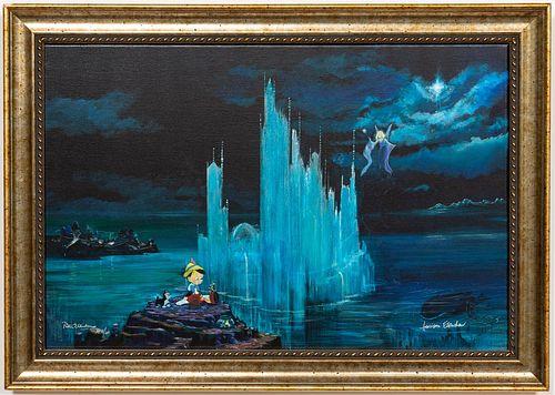 """PETER & HARRISON ELLENSHAW, """"BLUE CASTLE"""" GICLEE"""