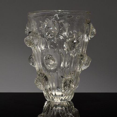 Large Ercole Barovier A Mugnoni Vase