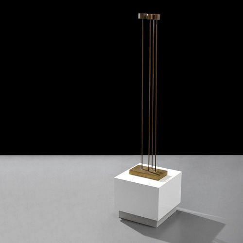 "Large Harry Bertoia Sonambient Sculpture, 50.5""H"