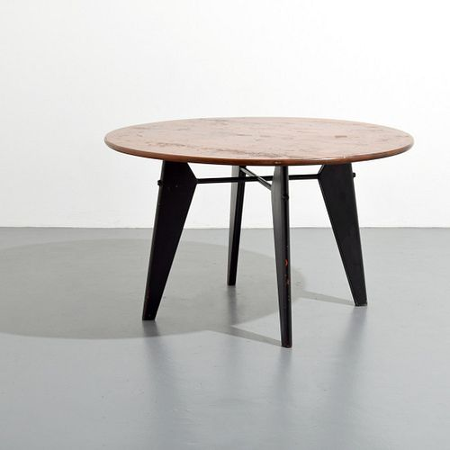 Jean Prouve & Charlotte Perriand Dining Table