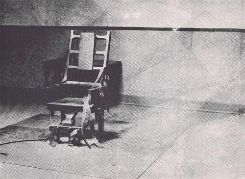 "Andy Warhol ""Electric Chair"" Screenprint (F. & S. IIIA.4)"