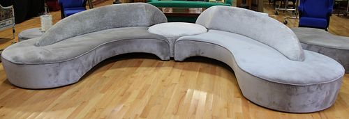 ATTRIBUTED TO VLADIMIR KAGAN COMETE SOFA SUITE