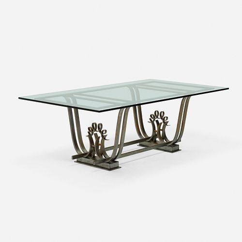 Raymond Subes, attribution, dining table