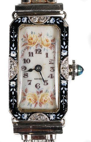 PATEK PHILIPPE Art Deco Platinum Watch