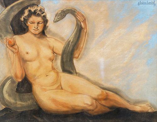 Pierre Abadie-Landel, Eve and the Serpent