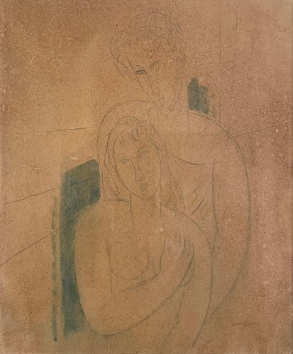 Amedeo Modigliani, Le Couple