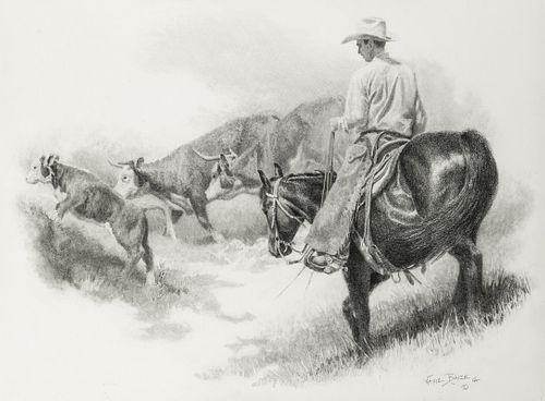 Wayne Baize | Pushed Up the Trail